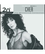 CHER  (20th Century Masters: Millennium Collection Vol. 2) CD  - $5.98
