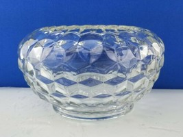 "EUC Fostoria American Cupped Bowl 7"" x 4 1/2"" Rose Bowl  Hydrangea Floral Vase - $50.49"