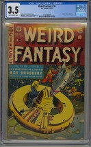 WEIRD FANTASY #18 CGC 3.5 RAY BRADBURY ANT-RACIST STORY - $435.37