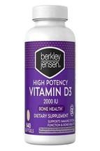 Berkley Jensen Vitamin D3 Supplement 2000IU 50mcg 640 Softgel Bone, Immune - $11.07
