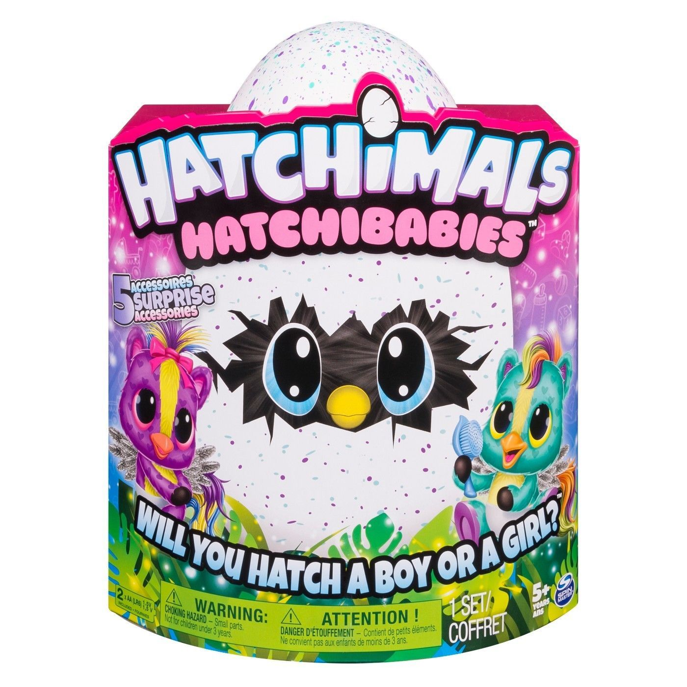 Hatchimals HatchiBabies Ponette Hatching Egg with Interactive Pet Baby