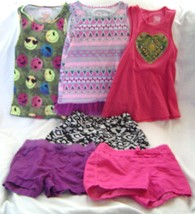 Girls Size 6-6X Lot of 6 Shorts and Tank Tops - $19.99