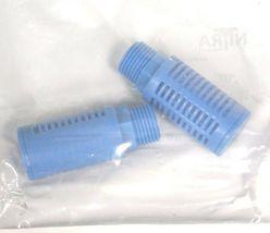 "BOX OF 8 NEW NITRA SPL-38N PLASTIC SILENCERS 3/8"" NPT SPL38N image 3"