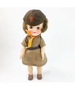 Vintage Effanbee 1965 Girl Scout Brownie Doll - $148.50