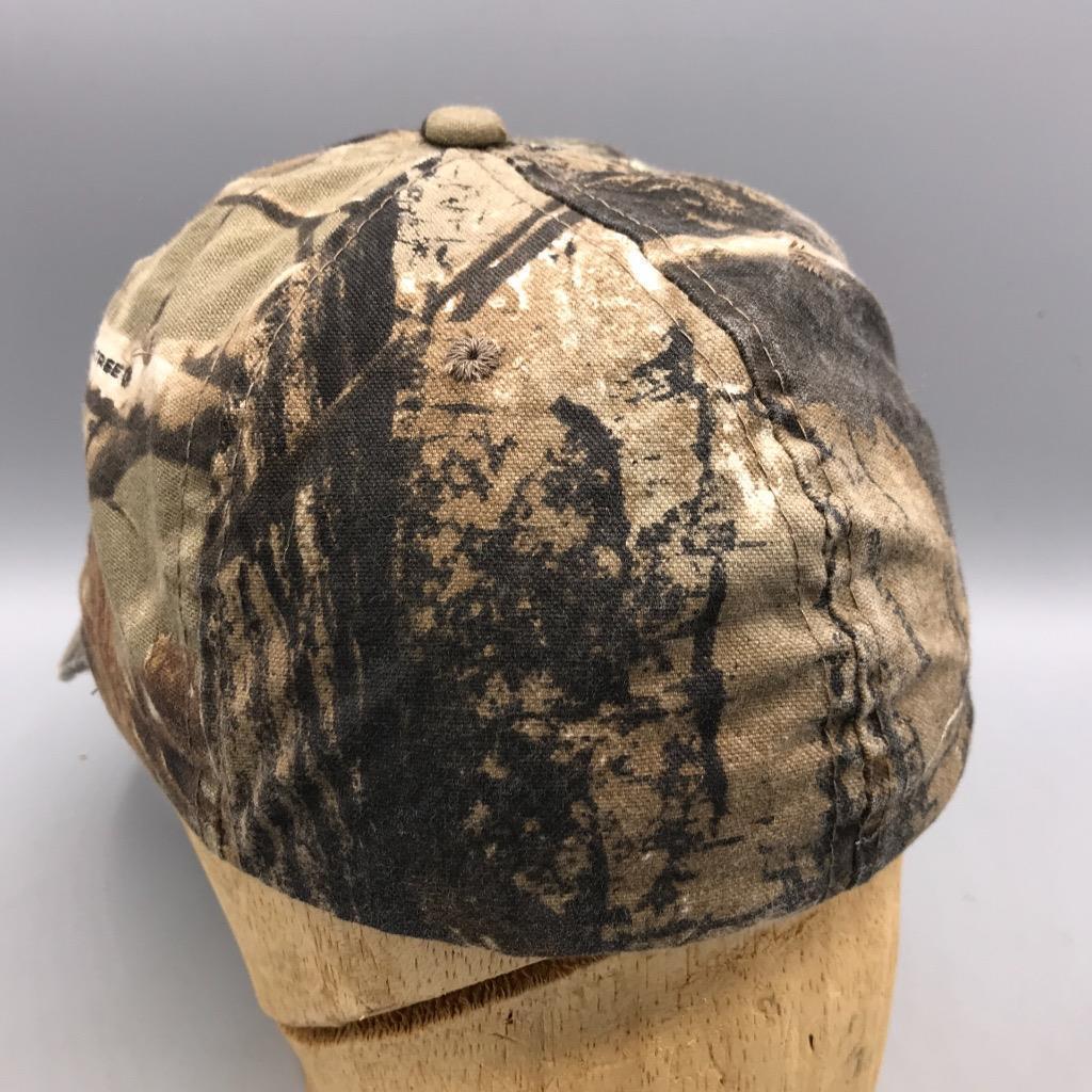 Signatures Realtree Camouflage Hinting Baseball Hat Cap Medium