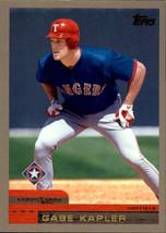2000 Topps #368 Gabe Kapler Texas Rangers - $0.99