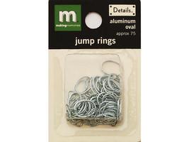 Making Memories Aluminum Oval Jump Rings, Various Sizes