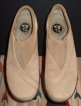 """Women's Merrell """"Topo Curve Stone"""" Beige Snuff Suede Casual Loafer Sz. 9.5 MINTY - $37.12"""