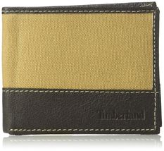 Timberland Men's Leather Credit Card ID Bifold Wallet With Key Fob Gift Box Set image 3