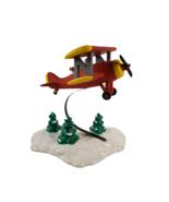Department 56 Original Snow Village Spirit of the Snow Village Airplane ... - $19.95