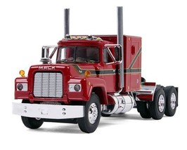 1/64 Scale Red Black Gold Mack R Model Cab Diecast Vehicle Truck Toys - $113.99