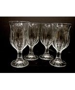 Set of 4 Cristal  D Arques Durand, Pompano Tulip, Glasses - $30.00