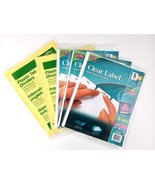 Brand New Avery Clear Label Dividers Index Maker 5-Tabs 3 Packs 696971 +... - $16.82
