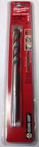 """Milwaukee 48-20-8830 1/2"""" x 4"""" x 6"""" 3 Flat Secure Grip Hammer Drill Bit - $3.96"""