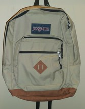 "JanSport City View Field Tan Boys Girls Backpack Bookbag 15"" Laptop Slee... - $39.59"