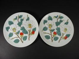 "2 Vintage 1960's Rosenthal Netter Salad Luncheon Plates 7¾"" - Japan - $18.00"