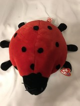 "Ty Beanie Buddies LUCKY Plush Lady Bug Buddy RETIRED with Tags 10"" 1999 - $9.99"