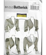 Butterick Pattern #5231-History Costume-Misses Victorian Jacket in Sizes... - $8.56