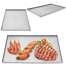 Outdoor Camping Picnic Double Stainless Steel Griddle Flat Top Plancha P... - $457.70