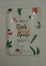 AVETTE Daily Fresh Squeeze Soothing Lychee Sheet Mask NEW - $2.99
