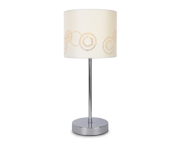 Touch Bedside Lamp Table Night Light Cream Shad... - $34.07