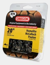 """New D70 OREGON 20"""" Replacement Saw Chain Fits Echo Homelite McCulloch Poulan NIP - $24.03"""