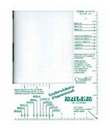 Embroidery Placement Ruler- Eliminate Guess Work-Adult Size - $17.70