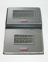 2002 GMC Safari Factory Original Owners Manual Book Portfolio #17 - $17.77