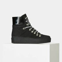 Nib Anthropologie Agda Nubuck LACE-UP Boot By Shoe The Bear 37 / 6.5 - $203.69