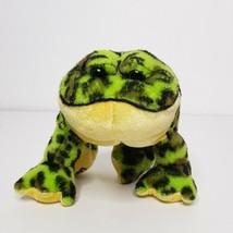 "Ganz Lil' Kinz Bullfrog 5"" Plush Stuffed Animal Beanie No Code - $12.86"