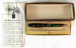 Wearever Fountain Pen Pencil Combination in Box Marbled Colors  Parts or... - $39.99