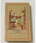 Vintage playing cards Clyde Cole artist Globe Inn Banbury England comple... - $4.00