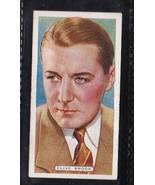 CLIVE BROOK 1935 ARDATH TOBACCO CIGARETTE CARD FILM, STAGE & RADIO STARS - $3.37