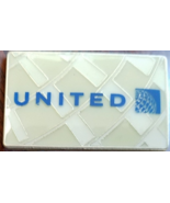"Vintage UNITED AIRLINES CONTINENTAL Transistion 1"" x 3/4"" Pin - $9.95"