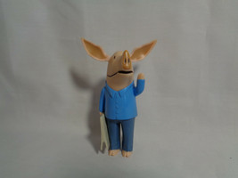 2010 Spin Master Olivia the Pig's Dad PVC Figure w/ Newspaper - $3.94