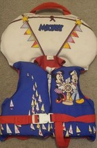 Disney Mickey Mouse Minnie Infant Toddler Life Vest Preserver Under 50 Ibs  - $18.69