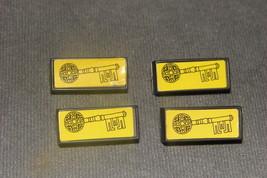 Dark Tower Milton Bradley 1981: Set of 4 Gold Keys - $16.00