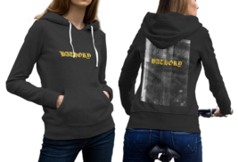BATHORY LOGO Black Cotton Hoodie For Women - $29.99+