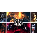 Kiss Alive Concert poster, 24x36 inch, 1970, 1980 rock band, rock and roll  - $18.99