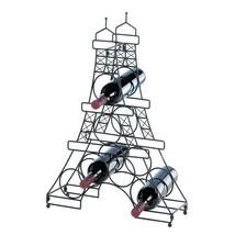 Iron Wine Rack, Countertop Metal Wine Rack Bottle Holder - $38.94