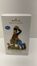 Hallmark Disney Half Off Hijinks Goofy And Chip'n Dale 2012 Christmas Or... - $12.82