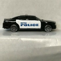 Black Police Car 2006 Dodge Charger Maisto Loose Diecast Car KP - $5.45