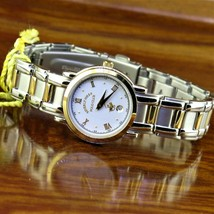 New Vintage Womens POLO Gold Plated & Stainless Steel Watch Beverly Hill... - $95.00