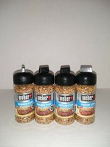 Set of 4: Weber Chicago Steak Seasoning 2.5 oz each Exp 03/2022 - $16.83