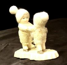 RDecor Come Skate with me D56 - Angel and girl figurines AA-191731  Collectible image 6