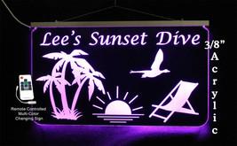 Personalized Patio Sign, Bar Sign, Beach Sign, Tiki Bar - $140.58
