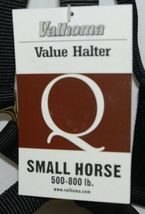 Valhoma 580QBK Black Small Horse Halter Five Hundred Eight Hundred Pounds image 4