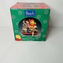 Disney Winnie The Pooh Piglet Christmas Stocking Holder 1998 - $24.72