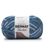 Bernat Baby Blanket Big Ball Yarn - Cozy Blue Varg - $16.95