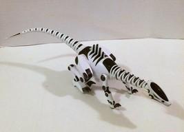 "WowWee Robotyrannus White Dinosaur Large 27"" Sounds Movements RARE HTF! - $39.59"